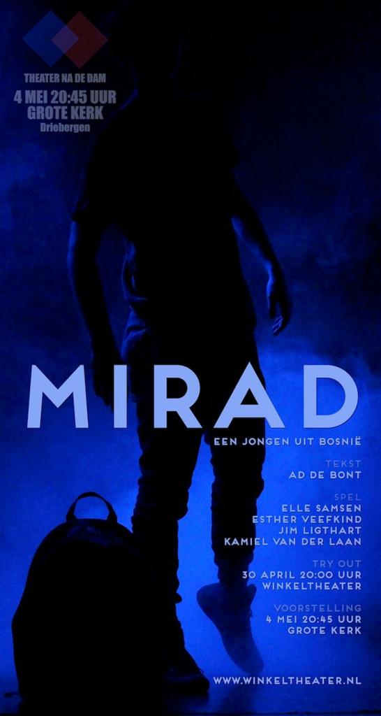 Mirad, een jongen uit Bosnië